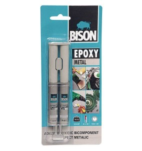 Adeziv metal Bison Epoxy...